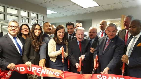 N.J. Leaders Cut Ribbon to Mark Opening of New Saint James Health Center in Newark
