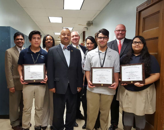 Payne, Jr. Congratulates Winners of 2015 Congressional App Challenge