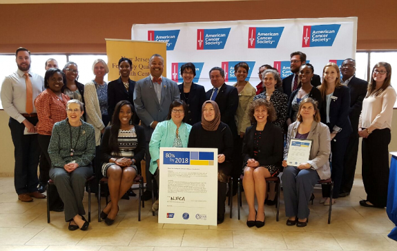 Payne, Jr. Joins American Cancer Society, NJ Health Organizations at Colorectal Cancer Pledge Signing Event