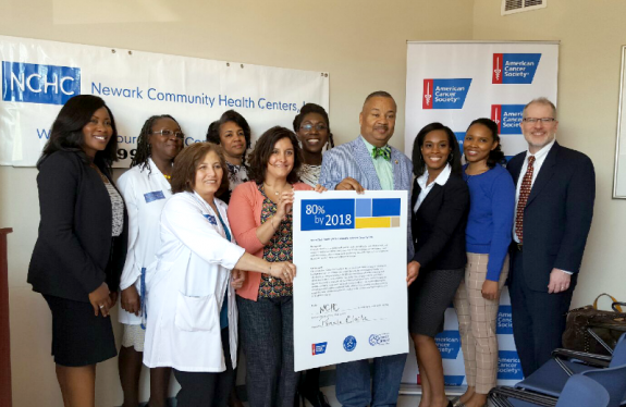 Payne, Jr. Joins American Cancer Society, Newark Community Health Centers, Inc. at Colorectal Cancer Pledge Signing Event