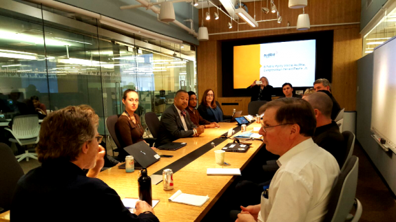 Payne, Jr. Hosts Roundtable Discussion with Audible Employees