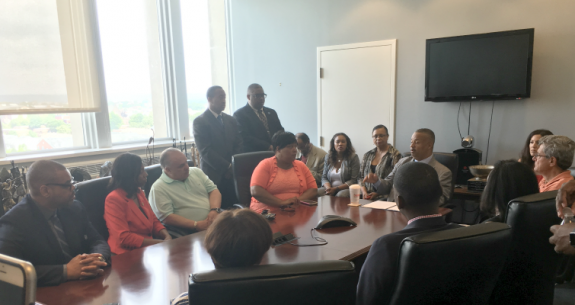 Payne, Jr. Holds Sit-In to Demand Congress Act on Gun Safety Legislation