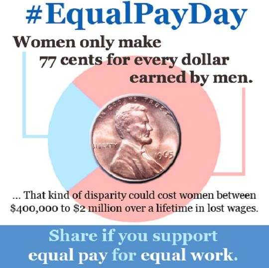 Payne Marks Equal Pay Day, Calls On Congress to Enact the Paycheck Fairness Act