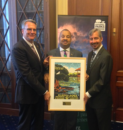 Congressman Payne, Jr. Honored For Support of National Parks
