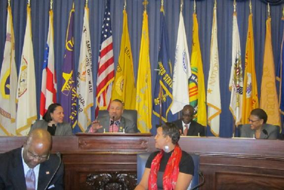 Payne Hosts Liberian National Immigration Conference