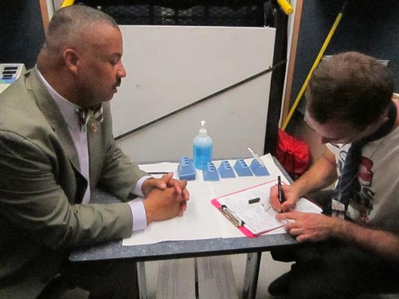 Payne Gets Tested on National HIV Testing Day