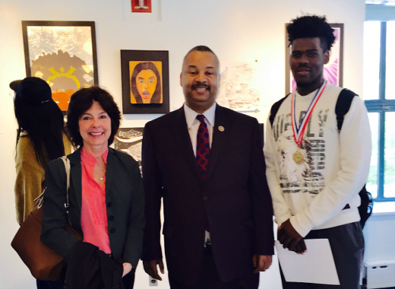 Payne, Jr. Recognizes Students at Congressional Art Competition Awards Reception