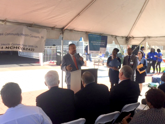 Payne, Jr. Attends Ribbon Cutting Ceremony in Newark to Mark National Health Center Week