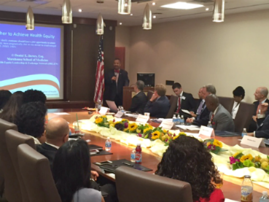 Payne, Jr. Discusses Importance of Health Equity at Newark Roundtable