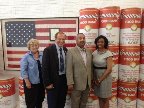 Payne Tours Community FoodBank of New Jersey