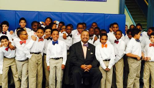 Payne, Jr. Visits North Star Academy to Discuss Challenges & Opportunities Facing Newark Youth feature image