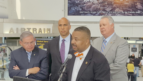 Payne, Menendez, Booker, Sires Announce Steps to Address Growing Security Checkpoint Delays at Newark Airport feature image